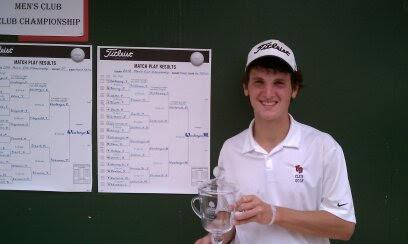 Matt Weinberger Club Champion at Clovernook in Cincinnati Ohio