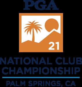 2021 PGA National Club Championship Logo Palm Springs, CA